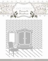 Amy Design Embossing Folder ADEMB10003 Brocante Christmas