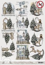 3D Stansvel Amy Design SB10052 Brocante Christmas