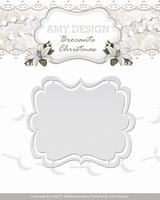 Amy Design Die Brocante Christmas ADD10032 Label