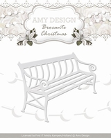 Amy Design Die Brocante Christmas ADD10035 Bench