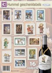 Creatief Art RE2530-0071 Hummel Geschenklabels