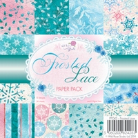 Wild Roses Studio Paper Pack PP043 Frosted Lace