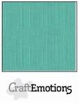 CraftEmotions 4-kant linnenkarton 1055 saliegroen