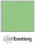CraftEmotions 4-kant linnenkarton 1035 pistache