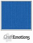 CraftEmotions 4-kant linnenkarton 1075 signaalblauw
