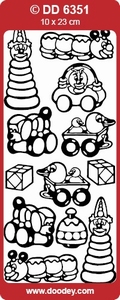 Sticker Kind Doodey DD6351 Speelgoed