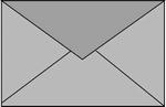 Romak enveloppen B6 25 blauw