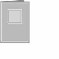 Romak Stanskaart A6 4-kant 30 bruin