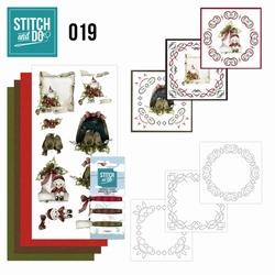 Stitch and Do borduursetje STDO019 Snowy Detail
