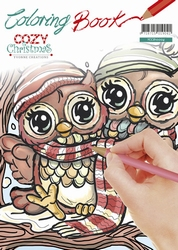 Yvonne's Coloring book YCCB10004 Cozy Christmas
