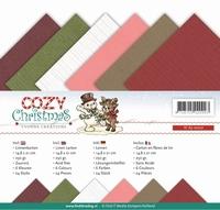 Yvonne Creations Linnenpakket A5 YC10006 Cozy Christmas