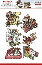 Stempel Yvonne Creations YCCS10004 Cozy Christmas