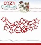 Yvonne's Die YCD10037 Cozy Christmas Jingle bells