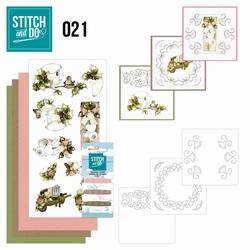 Stitch and Do borduursetje STDO021 Rustic Christmas