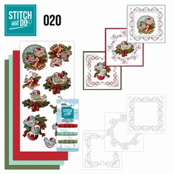 Stitch and Do borduursetje STDO020 Christmas Tweety