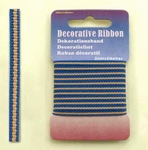 Hobby & Crafting Fun Decoratie Lint 12101-0123 Multi Jeans