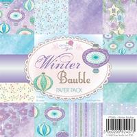 Wild Roses Studio Paper Pack PP046 Winter Bauble