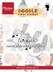 MD clear stamps Doodle EWS 2213 Birds