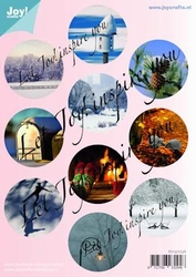 Joy! A4 stansvel Winter