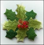 MD Paper Flowers RB2237 Holly