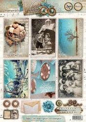 A4 Knipvel Studio Light 1349 Winter Memories Boom