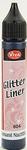 Viva Glitter Liner 6576 Tansanit Blauw