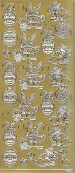 Paas Stickervel 1704 Afbeeldingen