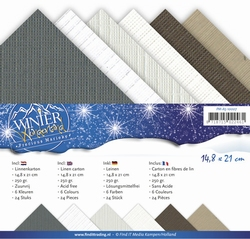Precious Marieke's linnen assortiment A5-008 Winter Wonderla