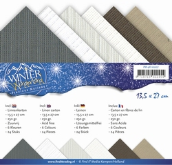 Precious Marieke's linnen assortiment 4K-008 Winter Wonderla