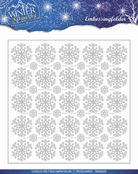 Precious Marieke's embossing folder 10006 Winter Wonderland