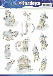 3D Stansvel Precious Marieke SB10069 Winter Wonderland
