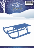 Precious Marieke's Die Winter Wonderland PM10049 Sled/slee