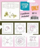 Stitch & Do Cards only COSTDO10011 set 11