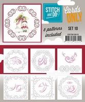 Stitch & Do Cards only COSTDO10010 set 10
