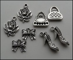 MD Set charms JU0892 Vintage lady