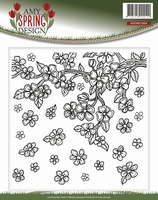 Amy Design Embossing Folder ADEMB10004 Spring