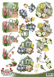 3D Knipvel Amy Design CD10607 Spring Garden