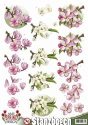 3D Stansvel Amy Design SB10080 Spring Flowers