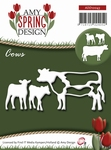 Amy Design Die Spring ADD10043 Cows/koeien