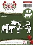 Amy Design Die Spring ADD10043 Cows/koeien