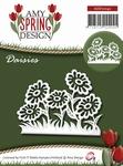 Amy Design Die Spring ADD10042 Daisies/maddeliefjes