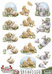 3D Stansvel Amy Design SB10078 Spring Animals