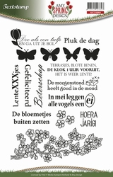Amy Design Clearstamp ADCS10004 Spring Tekst