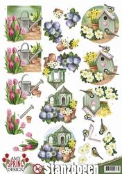 3D Stansvel Amy Design SB10077 Spring Garden