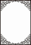 Crafts Too embossing folder CTFD3100 Dainty frame