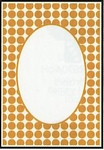 Crafts Too embossing folder CTFD3045 Dots frame