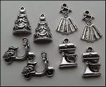 MD Set charms JU0893 Happy Days