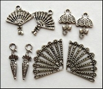MD Set charms JU0884 Vintage