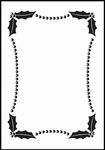 Nellie's Embossing folder EFE001 Christmas rectangle-1
