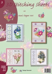 Ann's Paper Art 3D Stitching Sheets  3